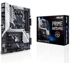 Asus osnovna plošča Prime X470-PRO, AM4, ATX