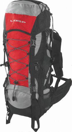 Loap Eiger 50+10 turistahátizsák red/black