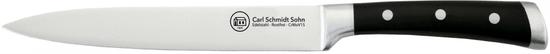 CS Solingen Porciovací nôž z nerezovej ocele Herne, 20 cm
