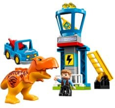 LEGO DUPLO Jurassic World 10880 T. rex in stolp