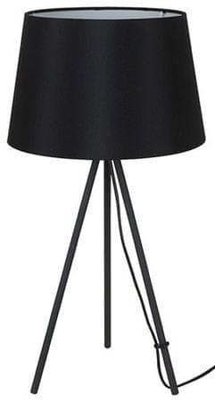 Solight stolná lampa Milano Tripod, trojnožka, 56 cm, E27 čierna