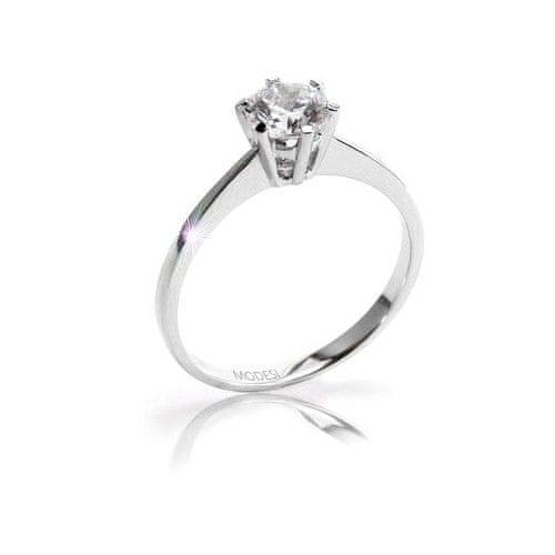 Modesi Zásnubní prsten QJR1565L (Obvod 55 mm) stříbro 925/1000