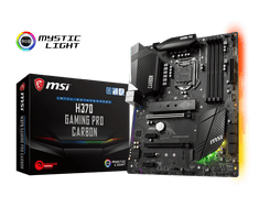 MSI osnovna plošča H370 GAMING PRO CARBON, LGA1151, ATX