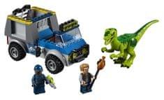 LEGO Juniors 10757 Raptor a záchranárske vozidlo