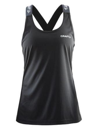 Craft ženski športni top Pure Elastic Tank W, M, črn
