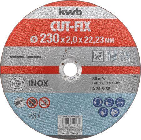 KWB rezalna plošča Cut-Fix 230x1,9 mm (711933)