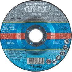 KWB brusilna plošča Cut-Fix, BF 125x6 mm (793265)