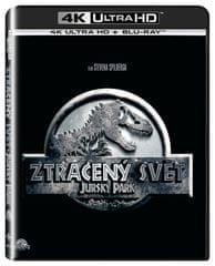 Jurský park 2: Ztracený svět  (2 disky) - Blu-ray + 4K ULTRA H