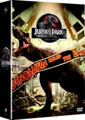 Kolekce Jurský park 1-4  (4 DVD)   - DVD