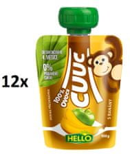 Hello Cuuc 100% ovocná kapsička s banány 12x100g