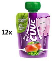 Hello Cuuc 100% ovocná kapsička s mangem 12x100g