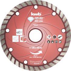KWB diamantna rezalna plošča Cut-Fix 115x2,1mm, Red-Line (797140)