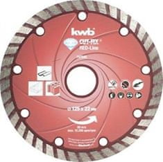 KWB diamantna rezalna plošča Cut Fix 125x2,3 mm, Red-Line (797540)