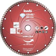 KWB diamantna rezalna plošča Cut-Fix 230x2,8 mm, Red-Line (797840)