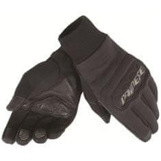 Dainese rukavice na skútr  ANEMOS WINDSTOPPER černé, textilní