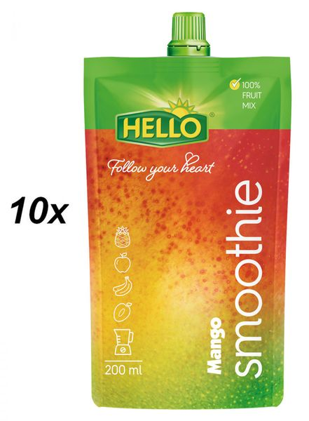 Hello Smoothie mango 10x200ml