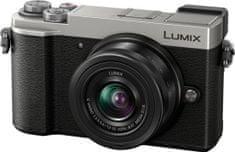 Panasonic Lumix DC-GX9 + 12-32 (DC-GX9KEG-S), stříbrná - rozbaleno