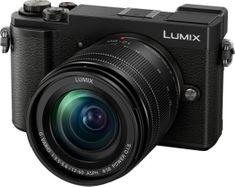 Panasonic Lumix GX9 fotoaparat + 12-60 objektiv, črn