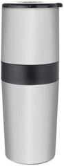 Orion młynek do kawy i termos 2w1 ze stali nierdzewnej