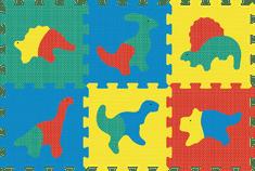 Lamps Pěnový koberec puzzle dino