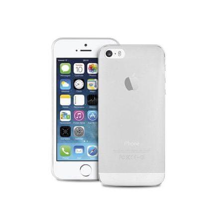 Puro ovitek+folija za iPhone 5/5S/SE, prozoren