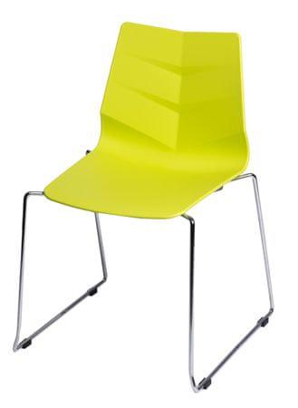 Mørtens Furniture Jídelní židle Limone, limetková