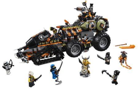 LEGO NINJAGO® 70654 Dieselnaut