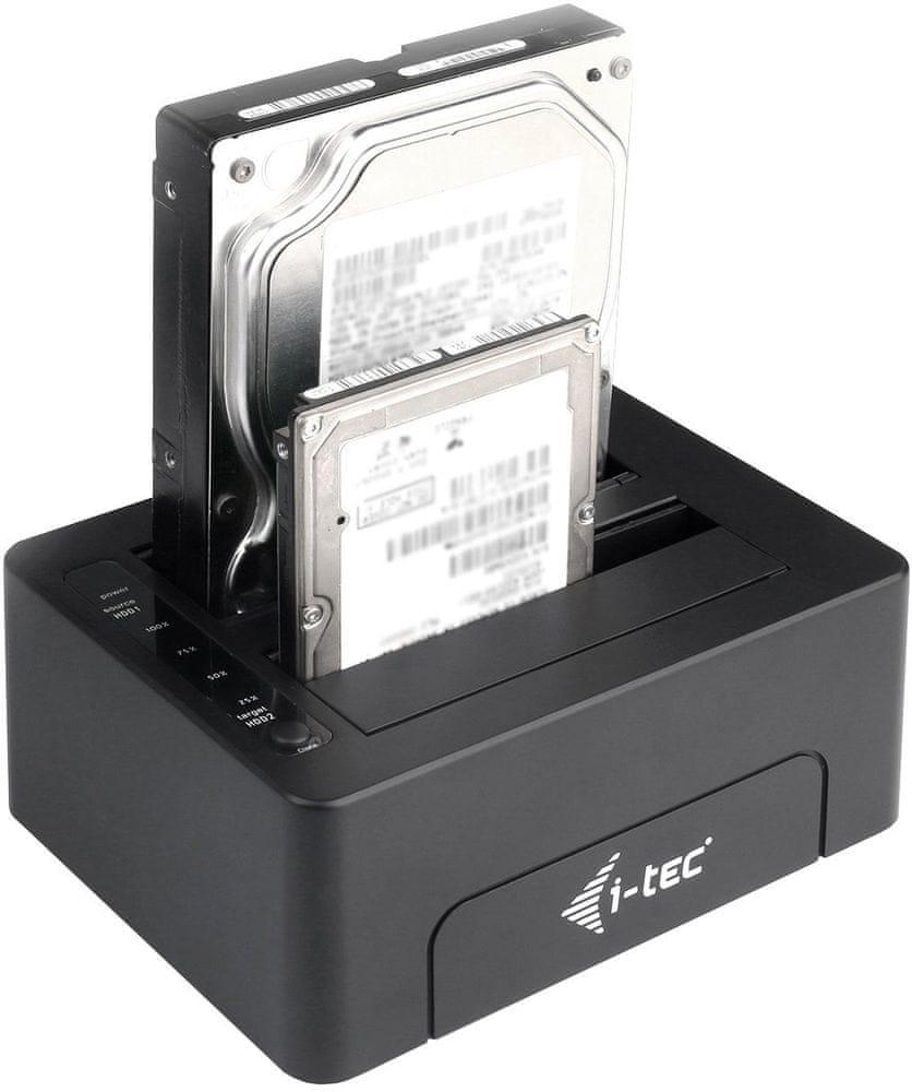 i-Tec USB 3.0 SATA HDD Clone Docking Station U3CLONEDOCK