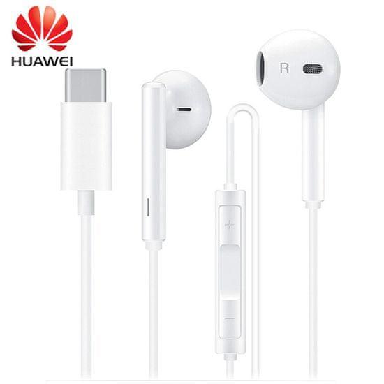 Huawei slušalke CM33 s Type C vtičem, bele