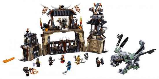 LEGO NINJAGO 70655 Zmajeva jama