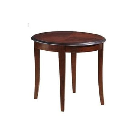 Klubska miza Antika, okrogla