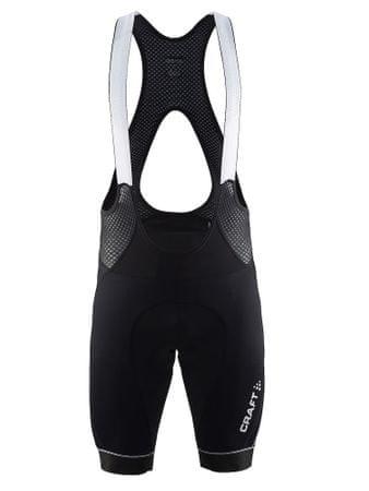 Craft moške kolesarske kratke hlače z naramnicami Verve Bib Shorts M, črne, XXL