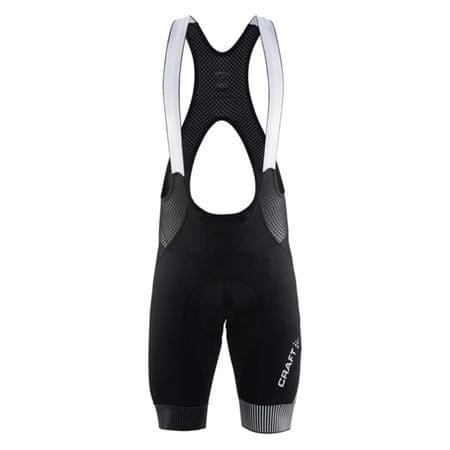 Craft moške kolesarske kratke hlače z naramnicami Verve Glow Bib Shorts M, črne, XL