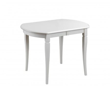 Raztegljiva miza Moden, bela