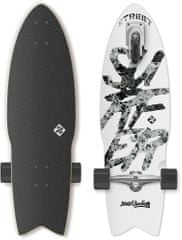 "Street Surfing Longboard Shark Attack 30"" Great White"