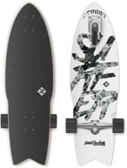 "Street Surfing Longboard Shark Attack 30"" Great White"