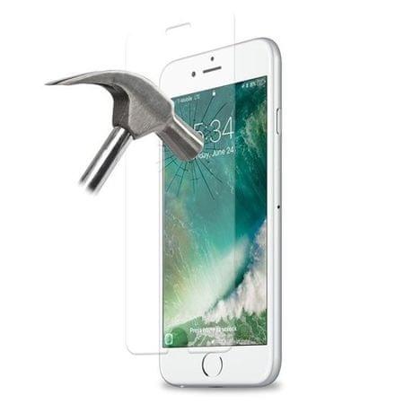 Puro zaščitno steklo za iPhone 6/6s/7/8 Plus, črno