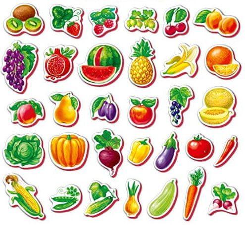 Lamps Pěnové magnety Ovoce a zelenina