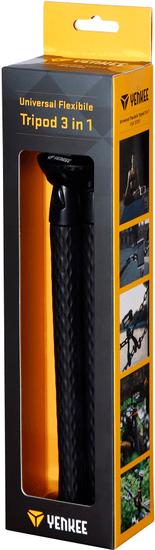 Yenkee YSM 301BK ohýbateľný tripod 3v1