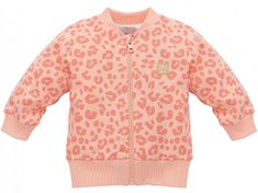 PINOKIO Dívčí kabátek Sweet Panther - oranžový