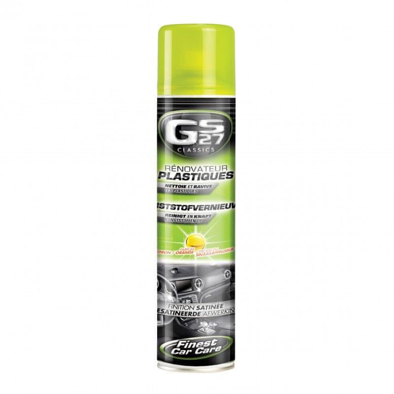 GS27 Ochrana plastů černá lesklá 400ml