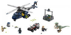 LEGO JurassicWorld Iskanje Blueja s helikopterjem 75928