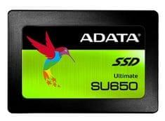"""A-Data SSD disk SU650 120 GB, 6,35 cm (2,5""""), SATA 6 Gb/s, 3D NAND"""