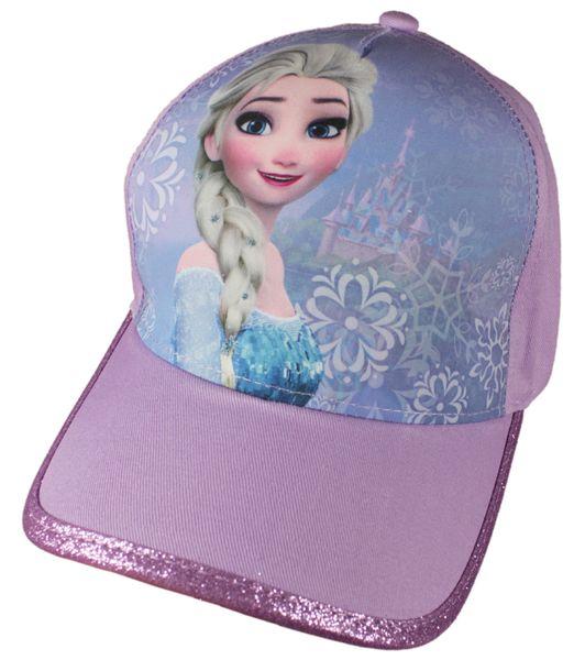 E plus M dívčí kšiltovka Frozen 52 fialová