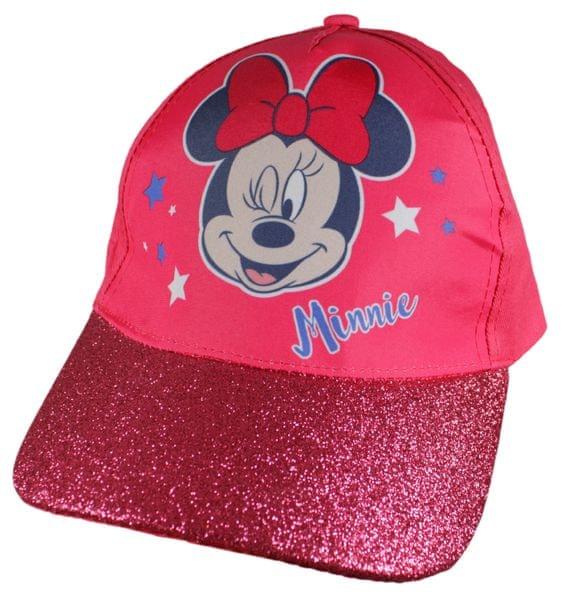 E plus M dívčí kšiltovka Minnie 52 růžová
