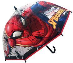 Lamps Deštník Spiderman manuální průhledný