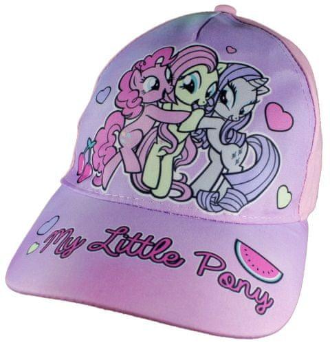 E plus M dívčí kšiltovka My Little Pony 52 světle růžová