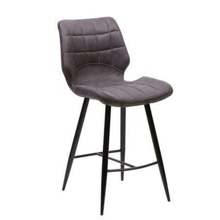 Barski stol Melia, barva antracita