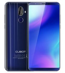 Cubot X18 PLUS, Dual SIM, LTE, 64 GB, 4GB RAM, kék mobiltelefon