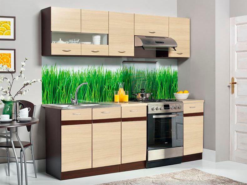 Kuchyně ELIZA 160/220 cm, rijeka světlá